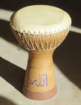 Arabic Drum DERBAKE
