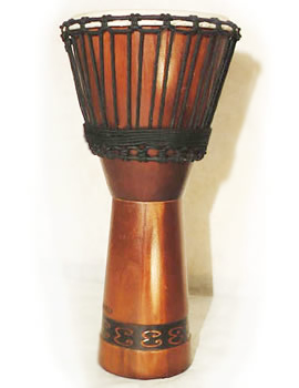 DJEMBE Drum typical of Africa