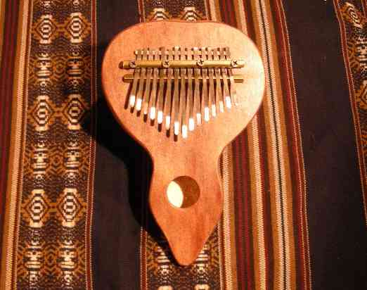 KKALIMBA GIANT SIZE With microphone