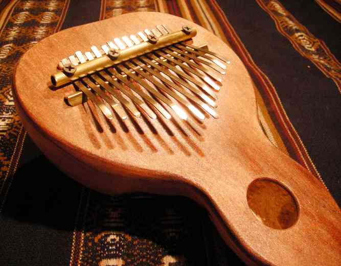 Kalimba GIANT SIZE Kaypacha With microphone