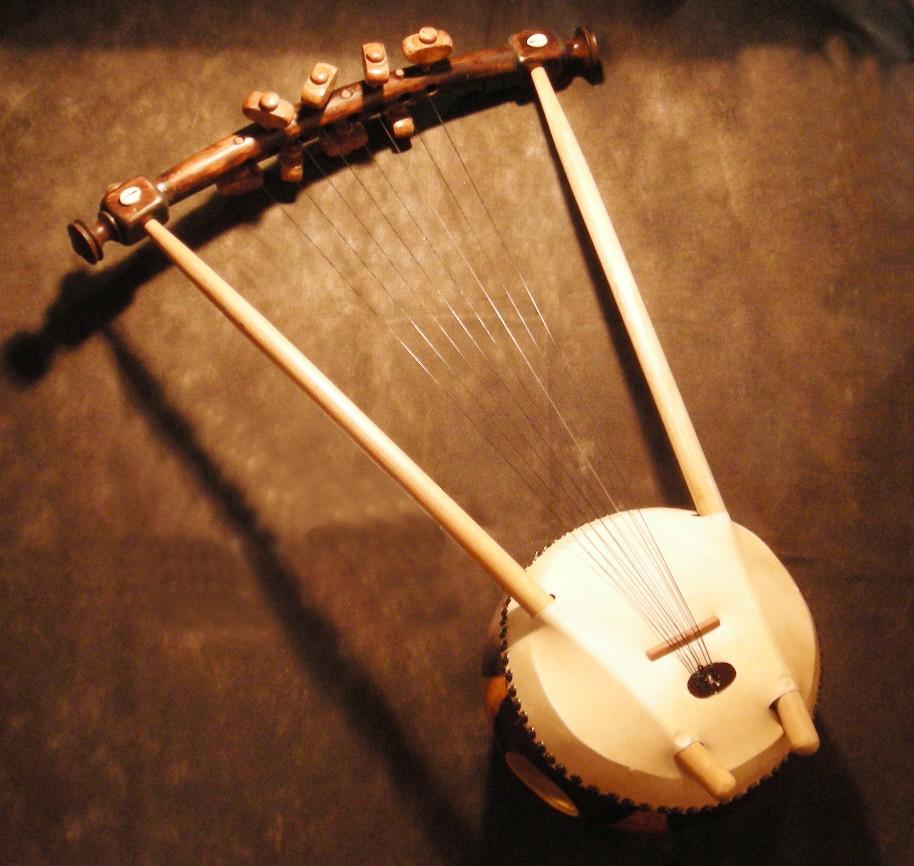 Nyatiti Lira De Kenia Instrumento De Cuerda Africano Kaypacha