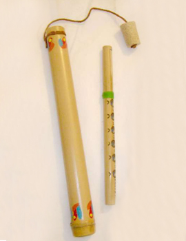 TETUM-NOSEM or Venezolan Flute - Musical Instruments Crafts